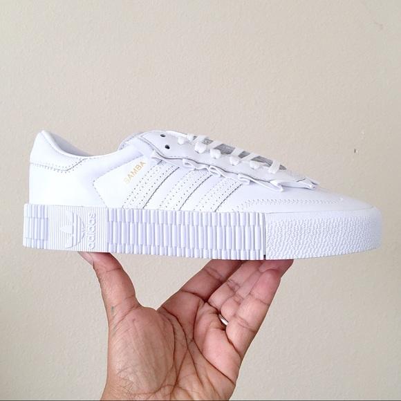 adidas Shoes   Adidas Sambarose White